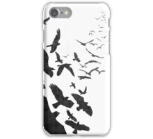 Flock of Birds in Flight iPhone Case/Skin