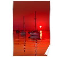 """Corio Morning Calm"" Poster"