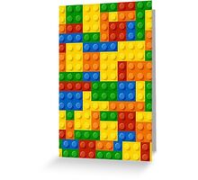 Lego case Greeting Card
