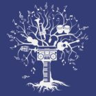 Melody Tree - Light Silhouette by zomboy