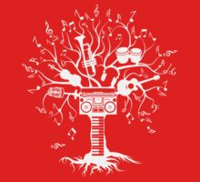 Melody Tree - Light Silhouette Kids Clothes
