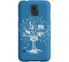 Melody Tree - Light Silhouette Samsung Galaxy Case/Skin