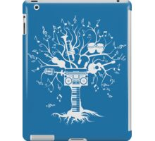 Melody Tree - Light Silhouette iPad Case/Skin
