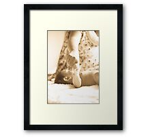 Unconditional Love. Framed Print