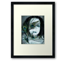 If I let you in would you understand Framed Print
