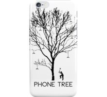 Chopping Down the Phone Tree iPhone Case/Skin