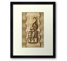 Staircase game Framed Print