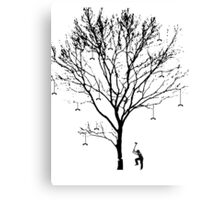 Chopping Down the Phone Tree (no text) Canvas Print
