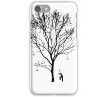 Chopping Down the Phone Tree (no text) iPhone Case/Skin