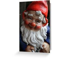 Reggie the Gnome Greeting Card
