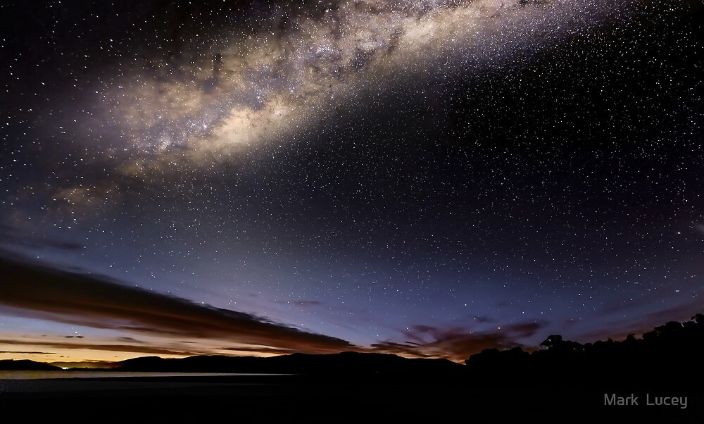 Lights over Hume by Mark  Lucey