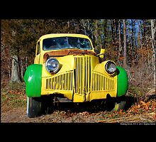 Finks Country Farm Old Truck - Wading River, New York by © Sophie W. Smith