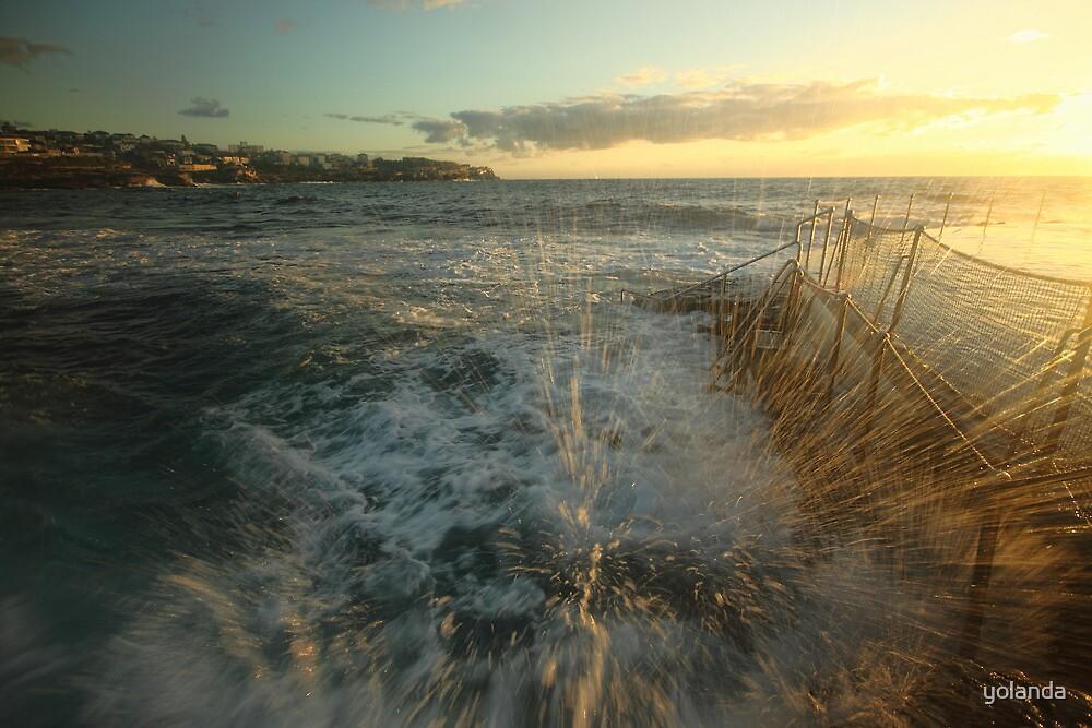Sunrise Splash by yolanda
