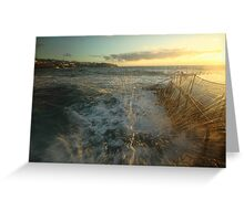 Sunrise Splash Greeting Card
