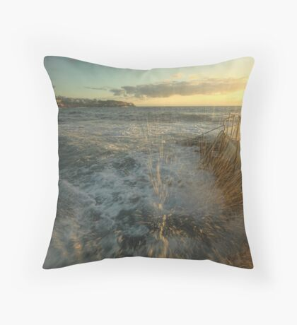 Sunrise Splash Throw Pillow