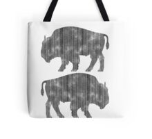 Weathered Buffalo Tote Bag
