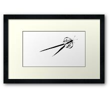 Me and my Shadow (1) Framed Print