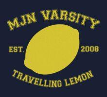 MJN Varsity- Travelling Lemon by gloriouspurpose