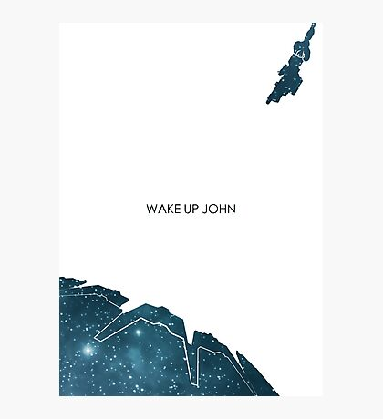 Wake Up John Photographic Print