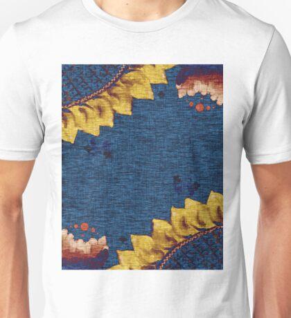 Sunflower and Peony Unisex T-Shirt