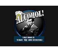 Alcohol.  Photographic Print