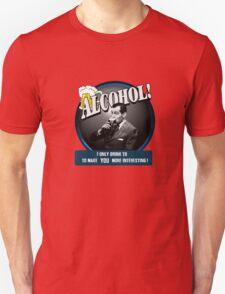 Alcohol.  T-Shirt