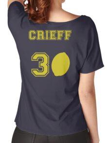 Martin Crieff- Travelling Lemon Jersey  Women's Relaxed Fit T-Shirt