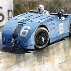 Bugatti Type 32 Tank 1923 French GP  by Yuriy Shevchuk