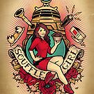 Souffle' Girl by HarryGordon