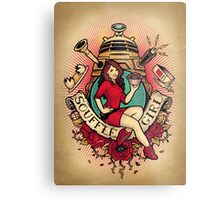 Souffle' Girl Metal Print