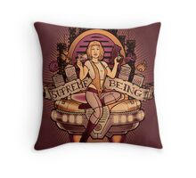 Supreme Being Throw Pillow