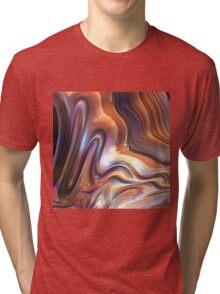 18F Fractal Tri-blend T-Shirt