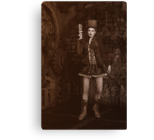 Steampunk - Lady Grace Canvas Print