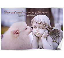 Dogs and angels . . . Poster