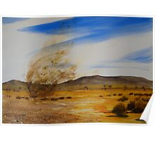 Willy Willy - Australian Outback Poster