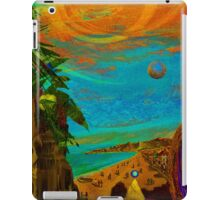 beach view iPad Case/Skin