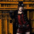 Deckhand - Steampunk New Media Art by Galen Valle