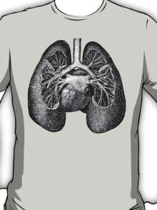 Anatomical Lungs T-Shirt
