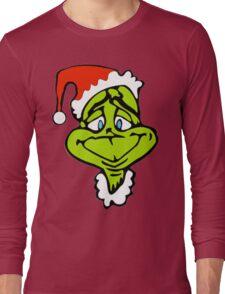 Santa The Grinch Christmas Long Sleeve T-Shirt