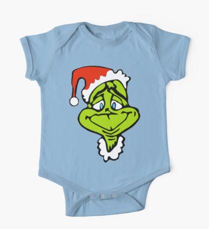 Santa The Grinch Christmas One Piece - Short Sleeve