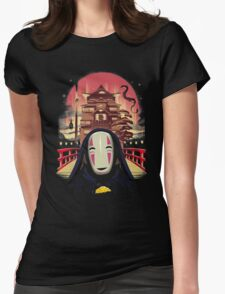 Welcome to the Magical Bath House Womens Fitted T-Shirt