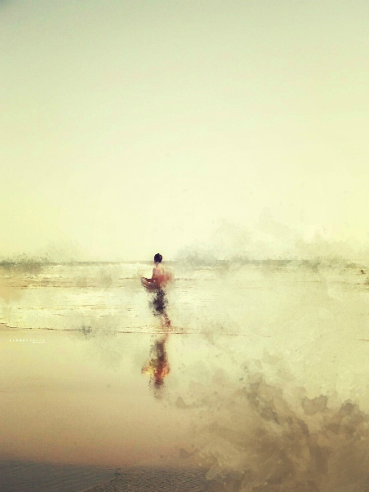 IMPRESSION - SOUL SURFER  by Laura E  Shafer