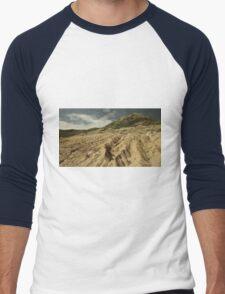 Wind-ploughed Men's Baseball ¾ T-Shirt