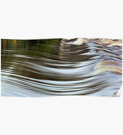 Water Curves Poster