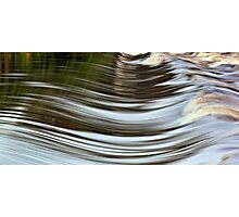 Water Curves Photographic Print