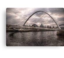 HDR Tyne Millennium Bridge Canvas Print