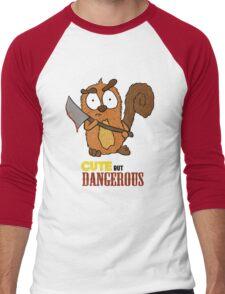 Beware of the Squirrel Men's Baseball ¾ T-Shirt