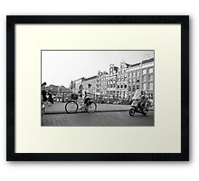 Look, I bought a blouse !  Framed Print