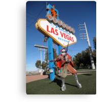 Juggle Jester in Vegas Canvas Print