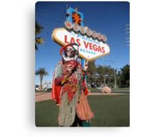 Ladybird Jester in Vegas Canvas Print